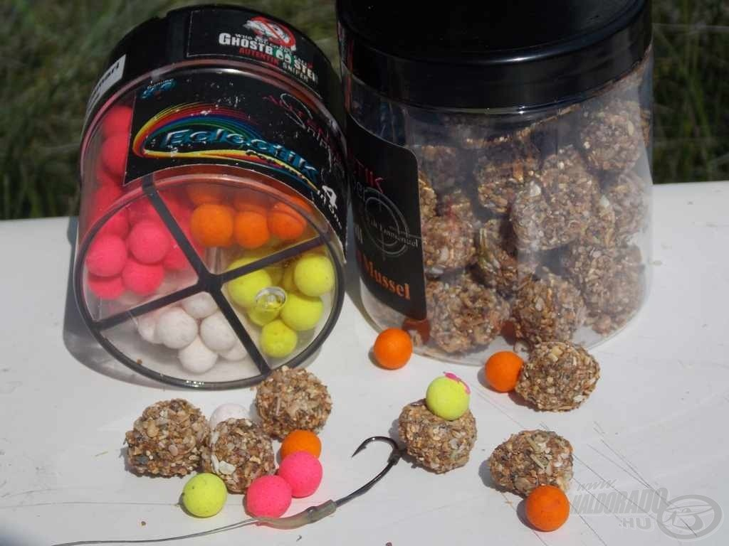 Autentik Sniper - Xtreme Mussel Angelball + Popup Ecletic