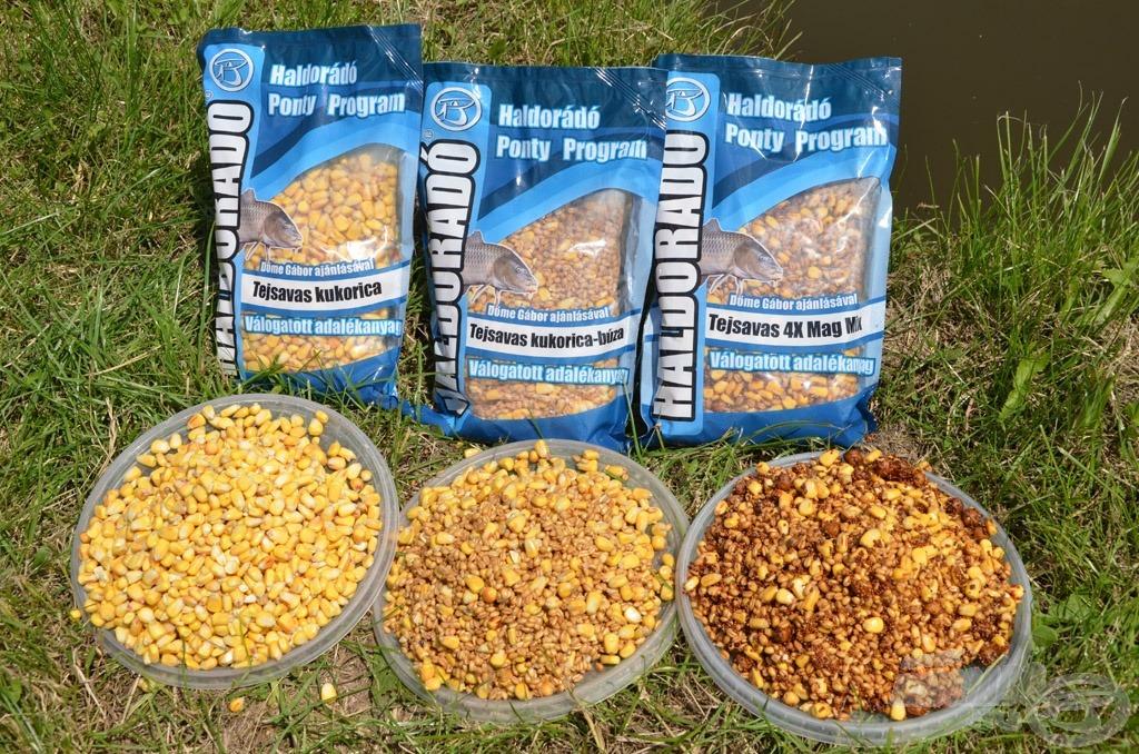 A FermentX technológiával készült tejsavas magmixek verhetetlenek a nyári ponty- és amurhorgászatok során!