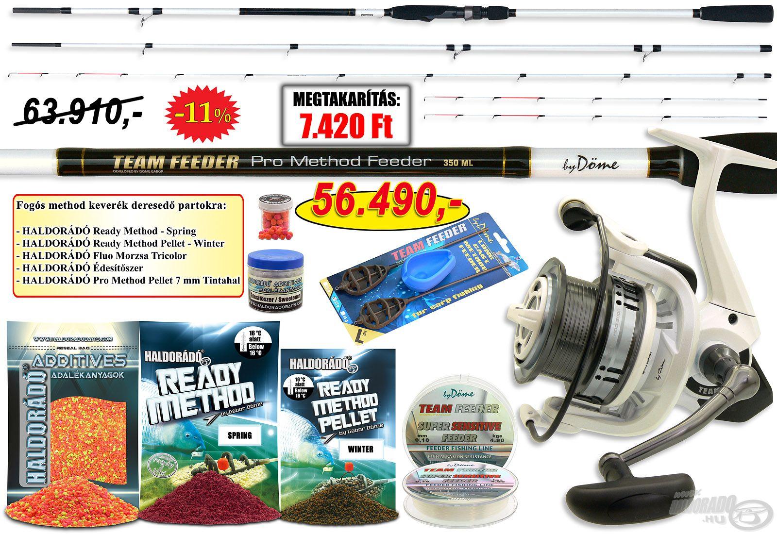 Ezzel a szettel kifejezetten finom method horgászatra alkalmas összeállítást adunk a céltudatos hobbi- és a versenyhorgászok kezébe!