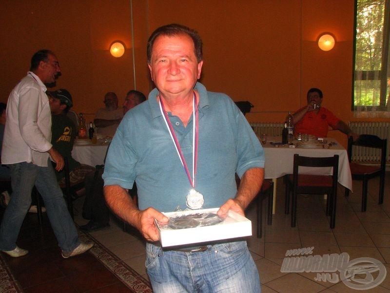 A pályagyőztesek: A bronzérmes Branislav Čordić…