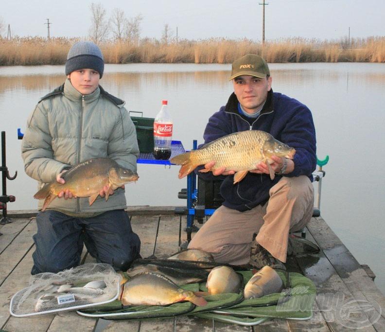 A korábbi horgászataink nagyon jól sikerültek ezen a tavon