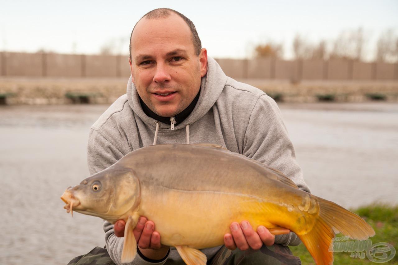 A tesztelés legnagyobb hala - 4,1 kg