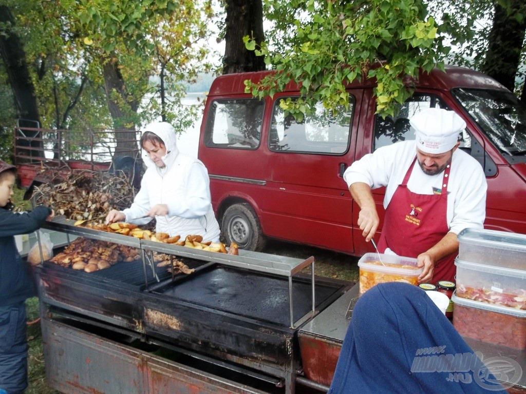 A Csitta-grill ebédre
