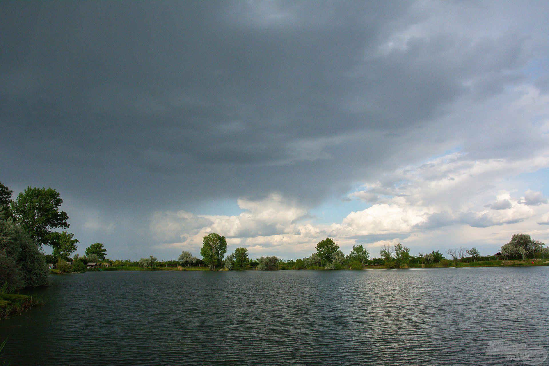 Itt már mindannyian tudtuk, ezt a Nyári feederes kalandot sem ússzuk meg eső nélkül…