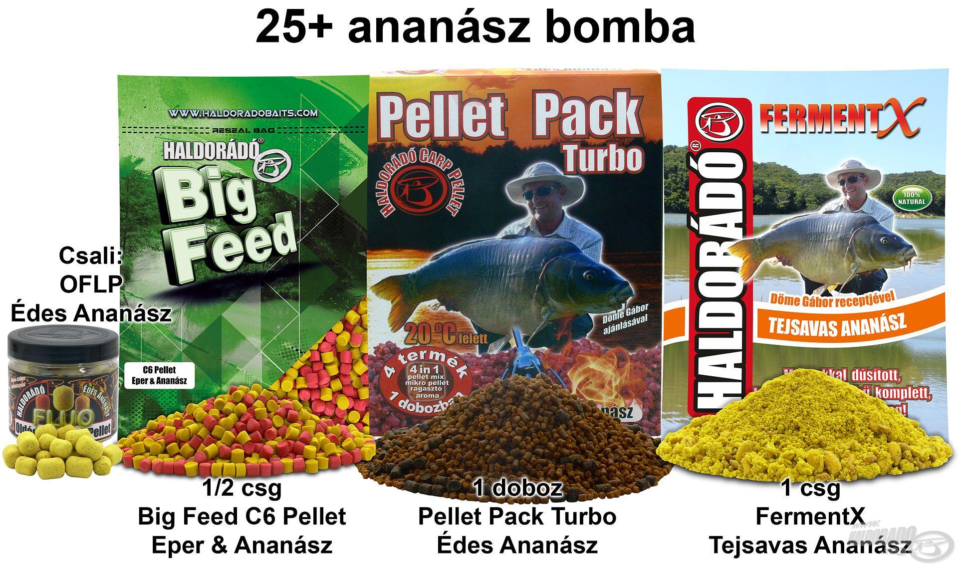 25+ ananász bomba