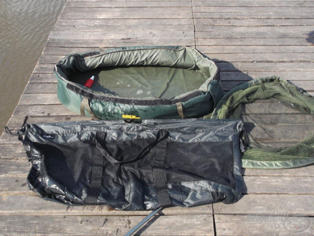 Egy tökéletesen összeválogatott felszerelés, amit ha megfelelően használunk, garantáltan sérülésmentesen tudjuk visszaengedni a halakat a vízbe