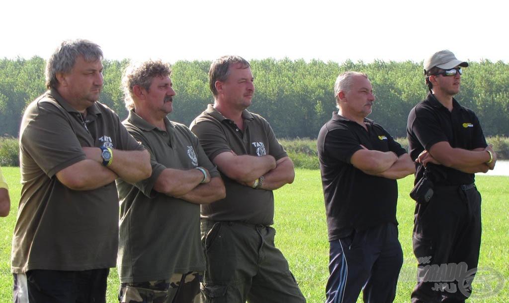 """""""Staféta-átadás"""": Tati Carp Team - Mirror Carp Team"""