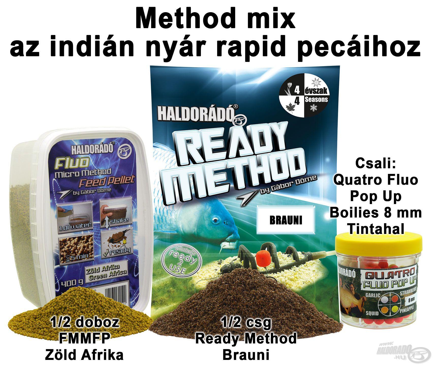 Method mix az indián nyár rapid pecáihoz