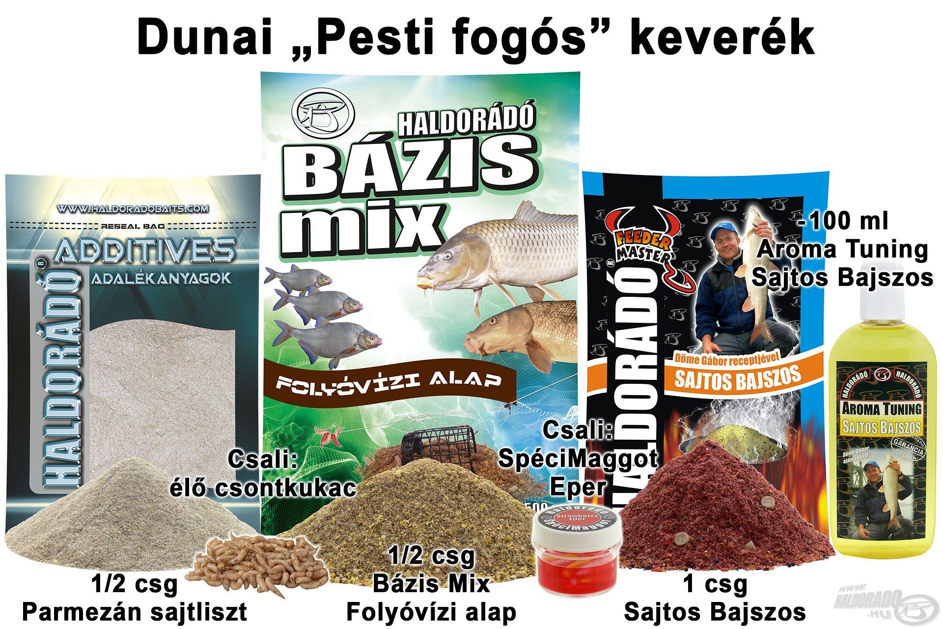 """Dunai """"Pesti fogós"""" keverék"""