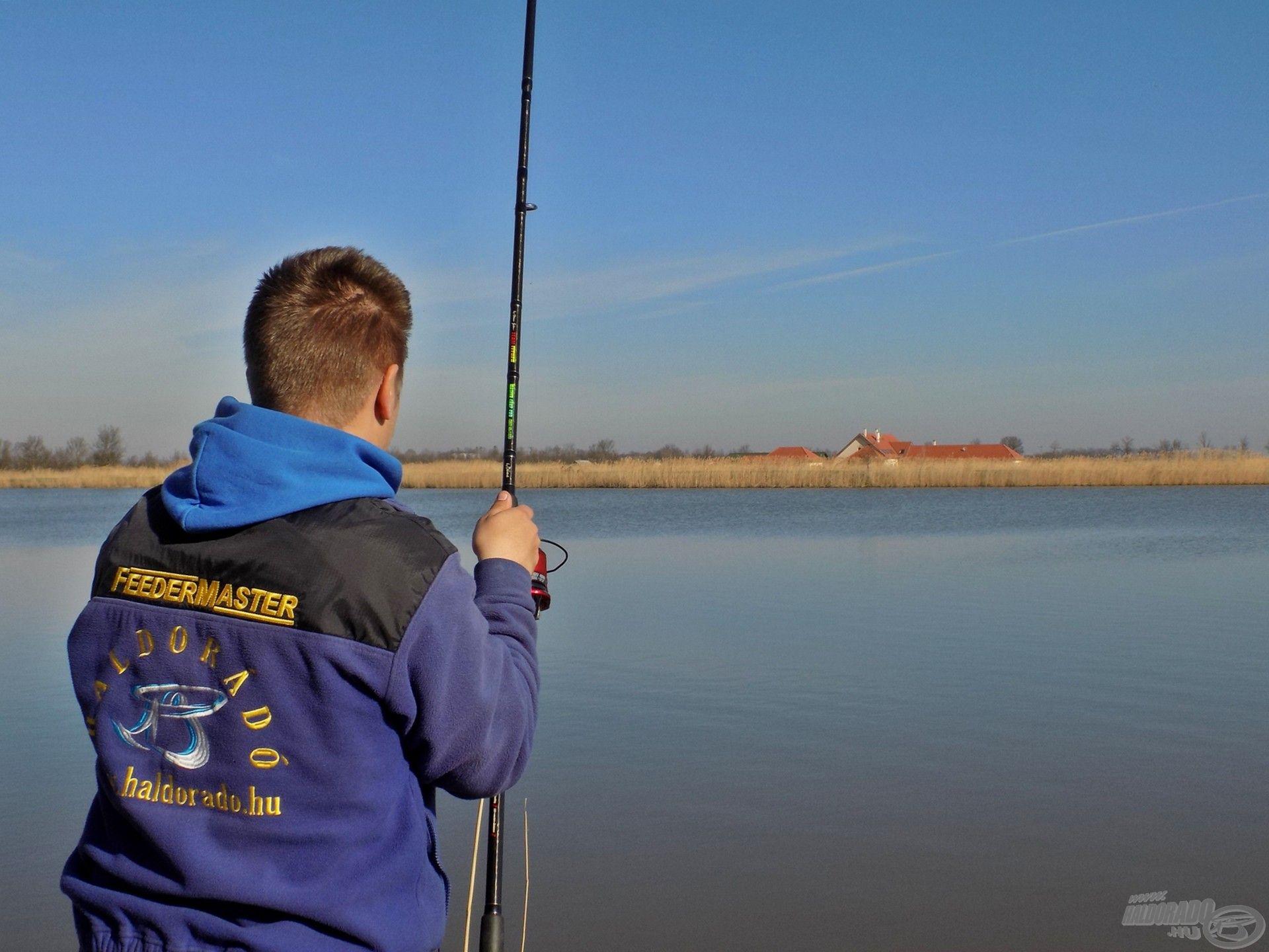 …egyenes út a halak tartózkodási helyéhez és a fárasztáshoz!