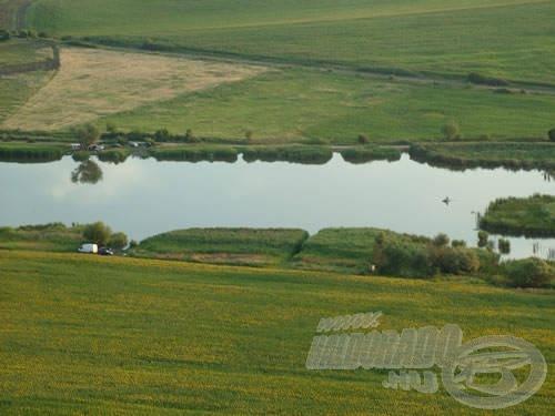 2007-ben is rendkívüli telepítéseket terveznek Palotáson. Egy ilyen gyönyörű tó megérdemli!