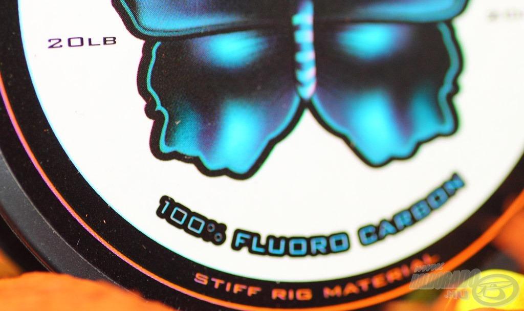 Prémium minőségű, valódi 100%-os Fluoro Carbon előkezsinór a Ghost Butterfly