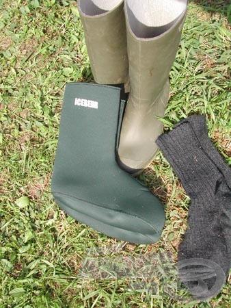 Csizma, zokni és thermobetét. Így teljes a sor