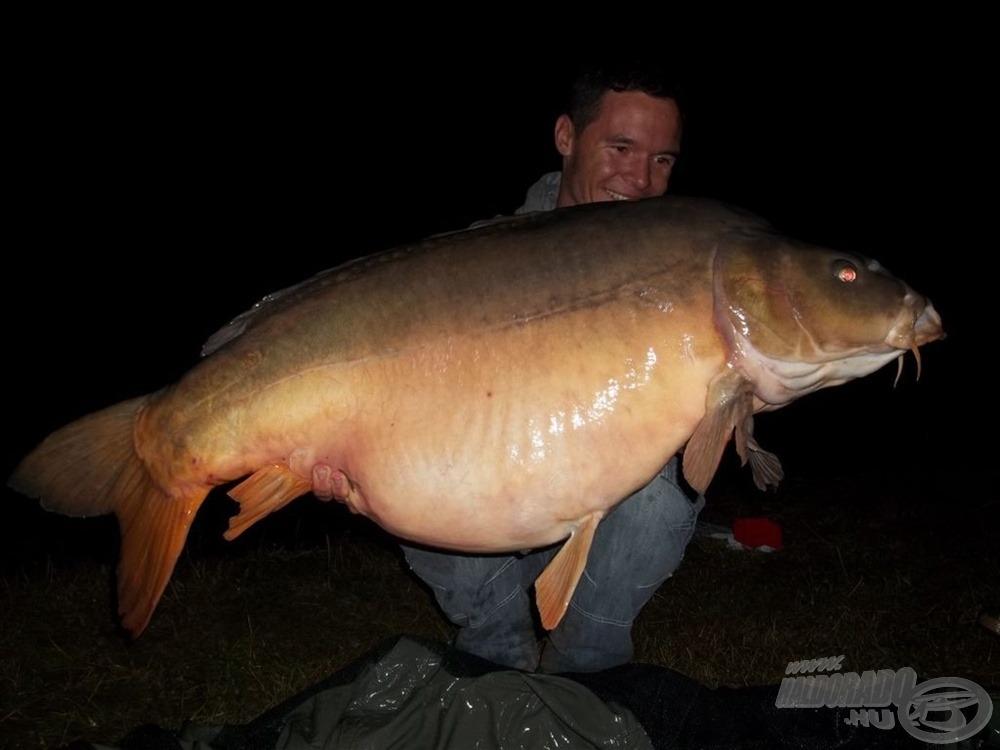 A verseny legnagyobb hala, 25 kg felett!