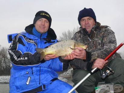 Pontyhorgászat a Dunán januárban!