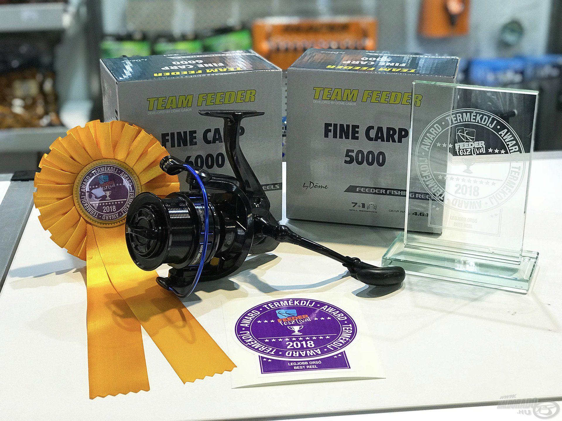 A PontyShow termékdíj legjobb orsója díját a Fine Carp nyerte!