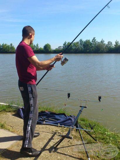Préri horgászat a barátnőmmel
