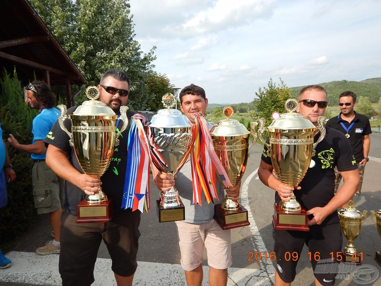 Professzionális Bojlis Európa Kupa,  Maconka: Napról-napra