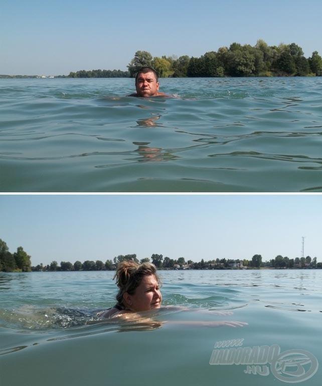 (Meg)úsztuk!
