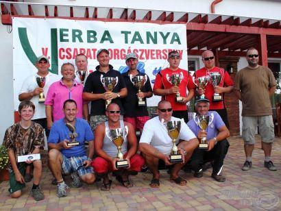 Rekord melegben rekorddöntés, avagy az V. Verba tanya páros horgászkupa képes versenybeszámolója