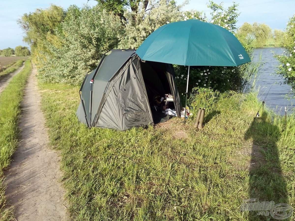 Szokásos kis táborom