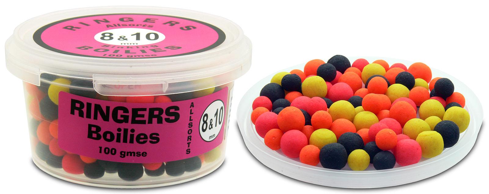 Egy dobozka Ringers Allsorts csalival mindenféle helyzetre kaphatunk megoldást! Elérhető süllyedő…