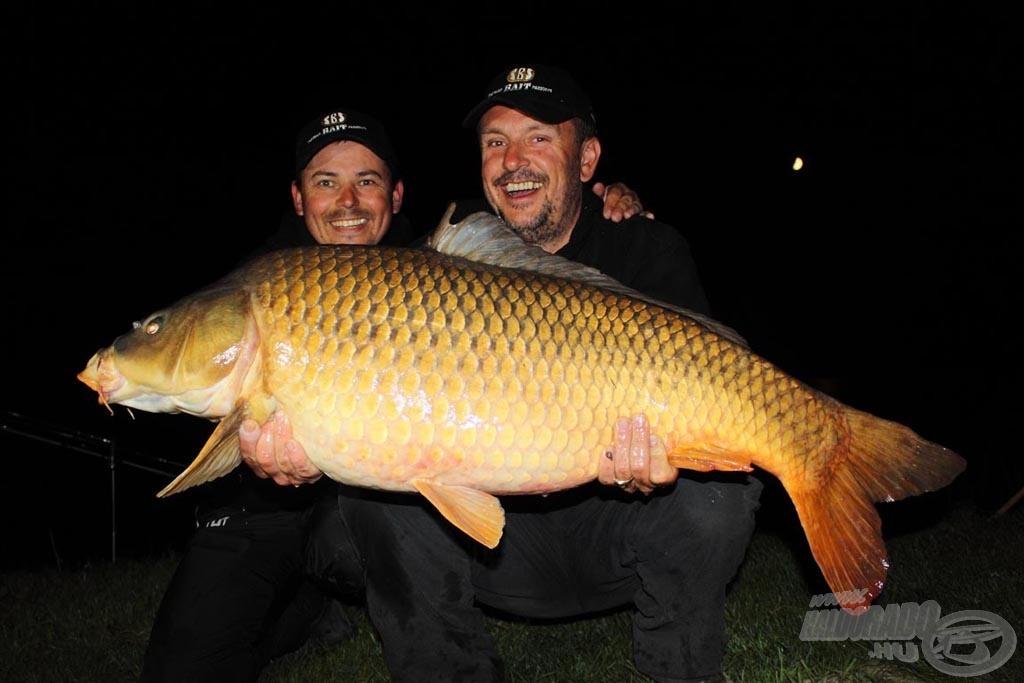 SBS Baits Czeh. fogása:16,72 kg