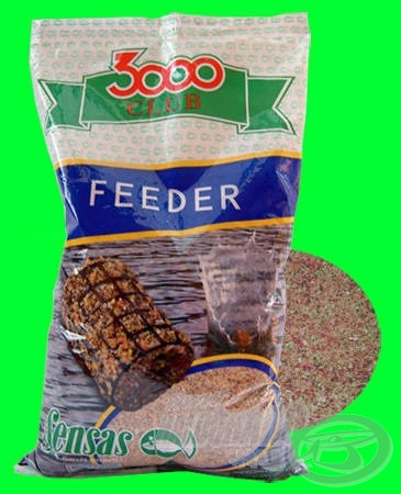 SENSAS 3000 CLUB FEEDER gyorsan oldódó, intenzív feederkosaras keverék