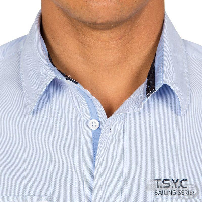 A nyaki és gallér rész szintén igényes, erősített kialakítású