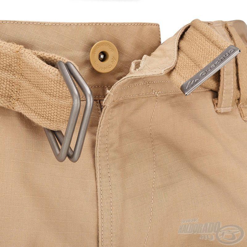 Azoknak sem kell aggódniuk, akikre ez a nadrág nem passzol tökéletesen, hiszen tetszés szerint állítható a derékméret a nadrághoz gyárilag tartozó öv segítségével