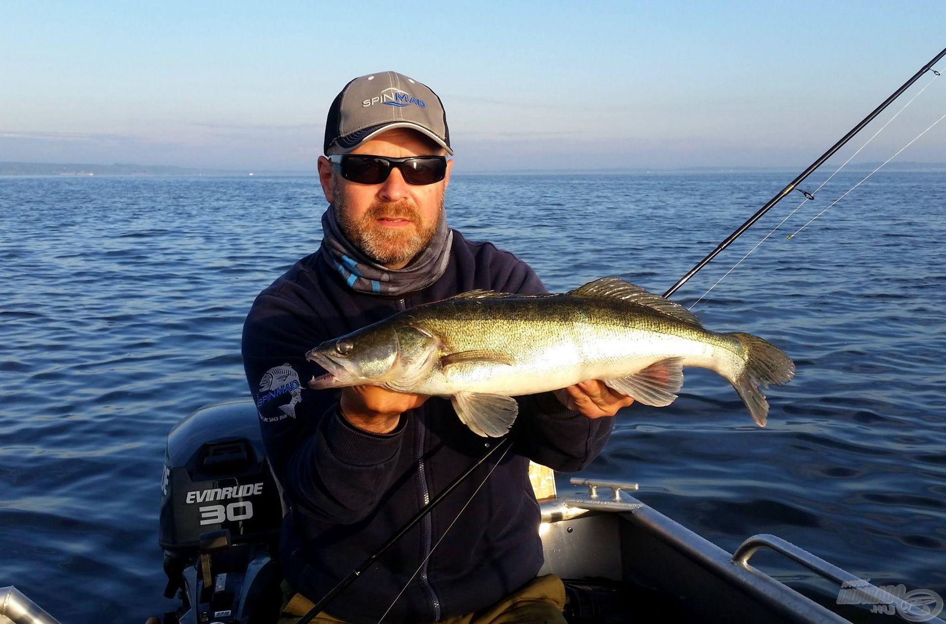 Több halfajnál is sikert érhetünk el vele, így például a süllő horgászathoz is ajánljuk