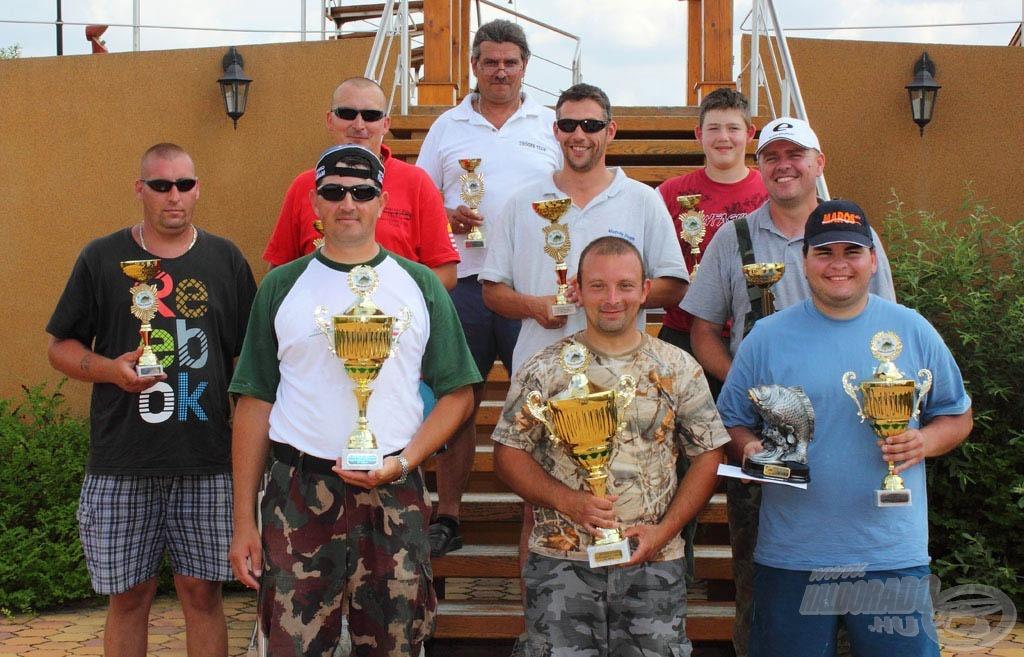 2011. díjazott versenyzői