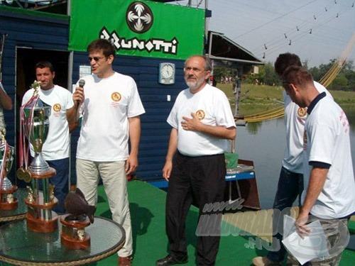 A Carp Föderáció elnöke, Mile Taušan megnyitja a záróünnepélyt