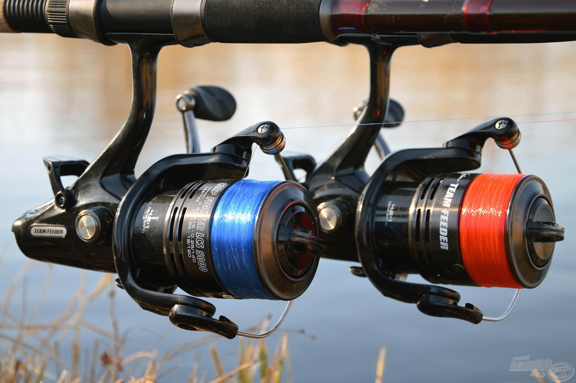Nemcsak hatékony velük a horgászat, hanem orsóinkon is igen mutatós elemek