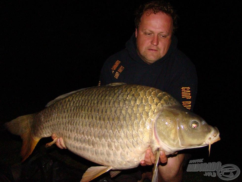Tomi és a túrazáró pikkelyes, 19,4 kg