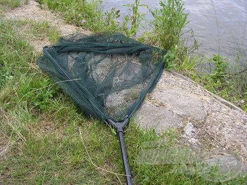 A nagyméretű merítő sokféle halhoz, sokféle horgászathoz nyújthat segítséget