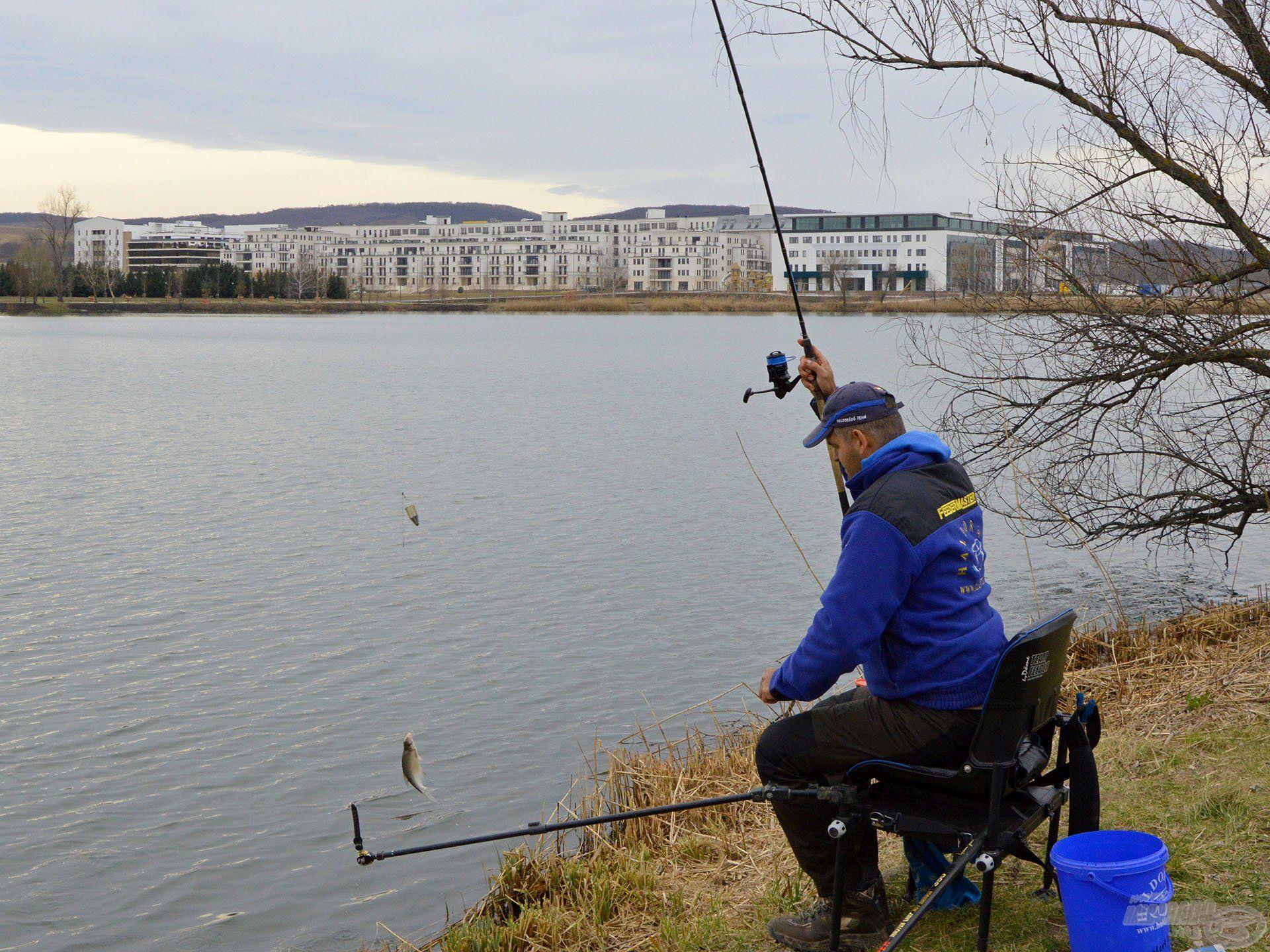 Nagyon lendületes, intenzív ez a fajta horgászat!