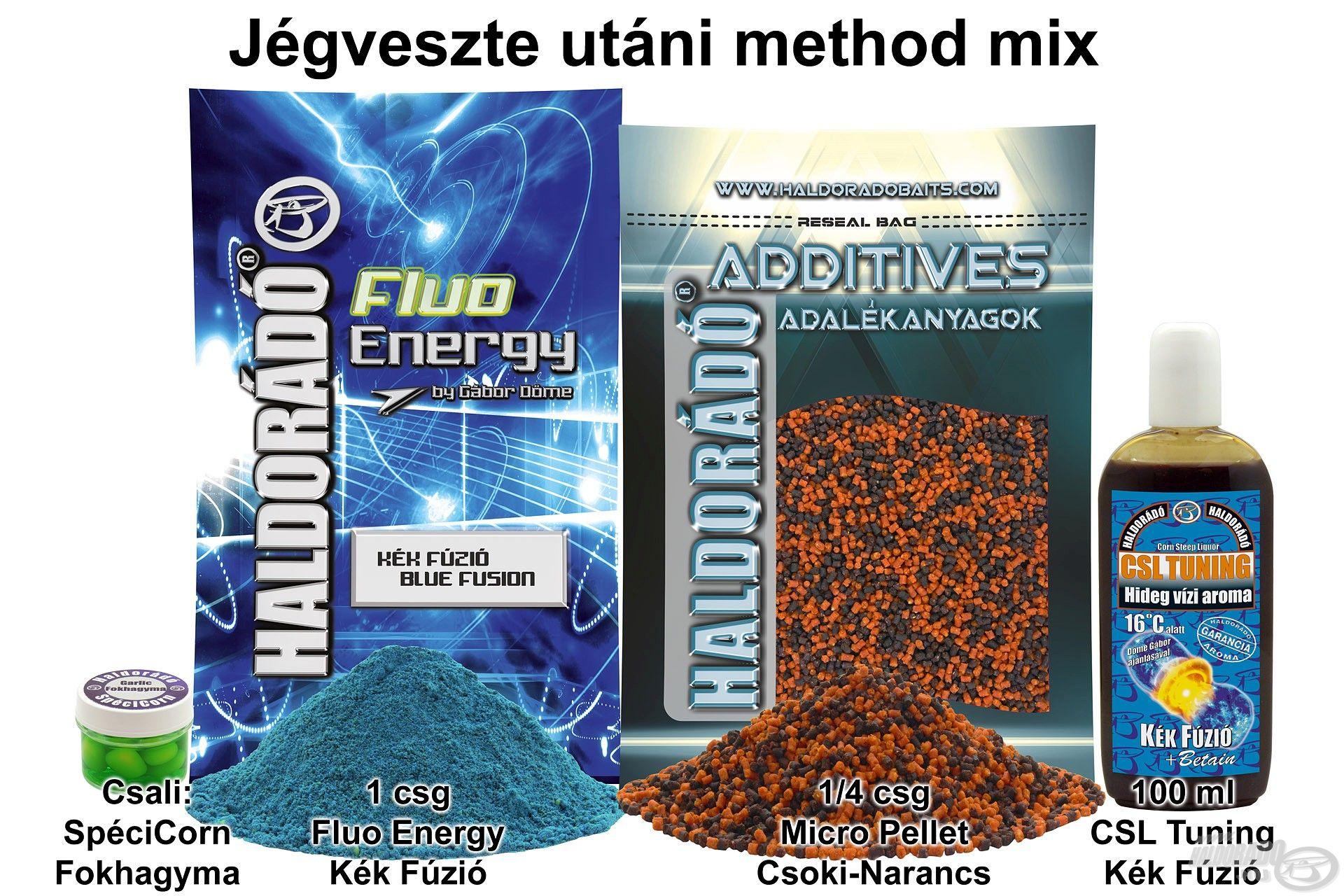 Jégveszte utáni method mix