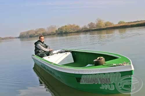 """Az eredményes süllőhorgászatoknál szinte """"kötelező"""" a csónak használata"""