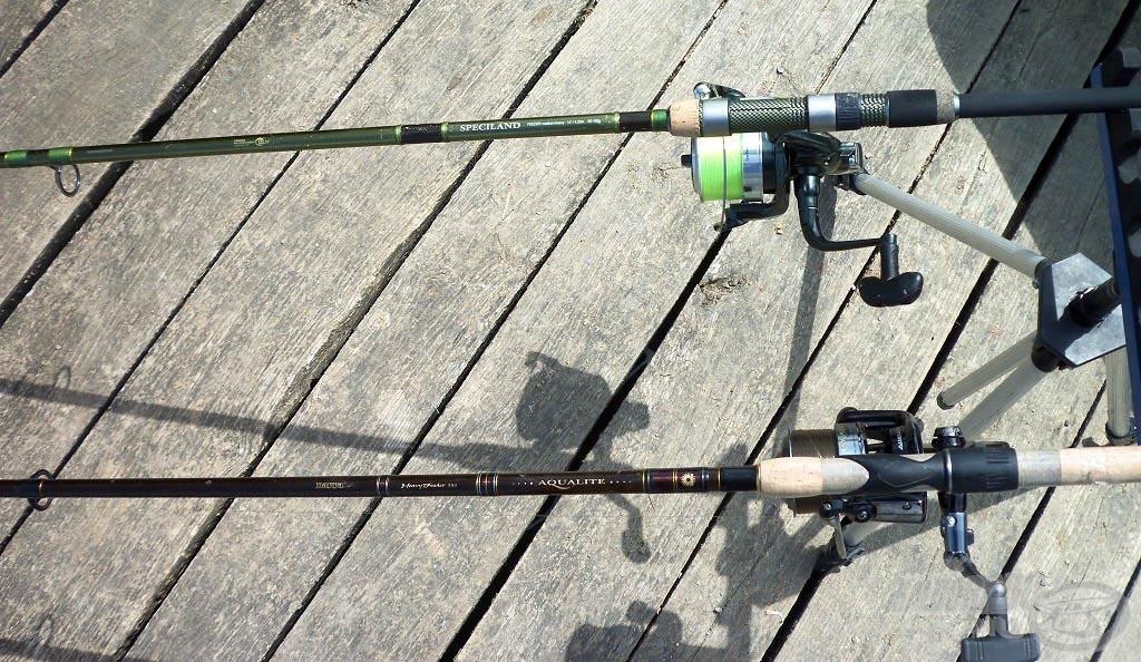 Összeszerelve a felszerelés, kezdődhet a horgászat!