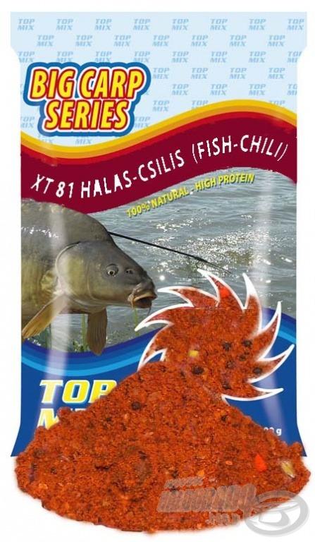 Csípős chili fűszer ad jellegzetes ízt az XT81 etetőanyagnak