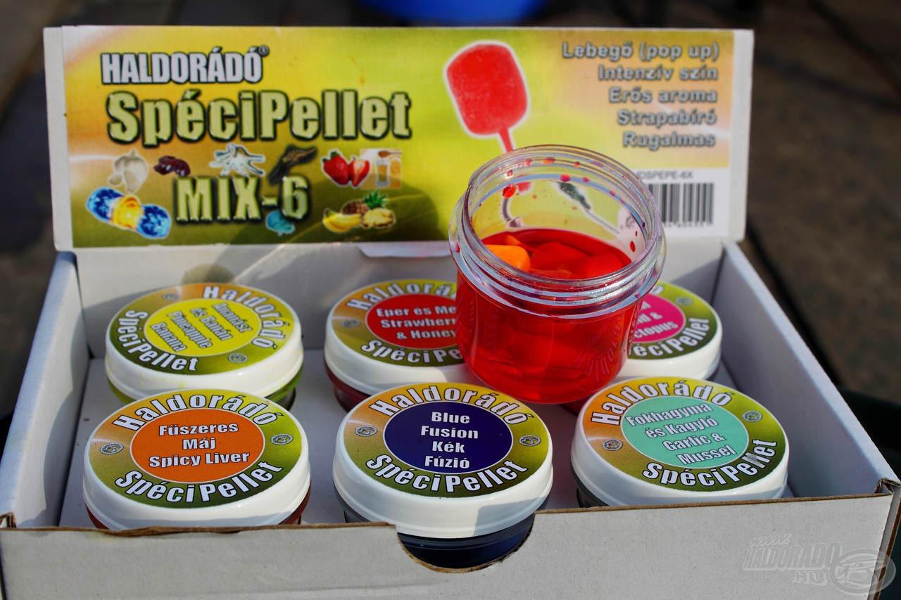 A SpéciPellet is 6 ízben kerül forgalomba