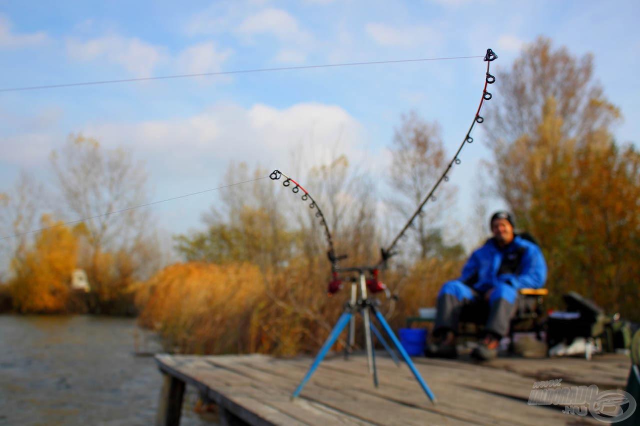 Hideg vízi nagyponty-horgászatok során előfordul, hogy akár egy órán keresztül ücsörgünk, mire megmozdul a spicc…