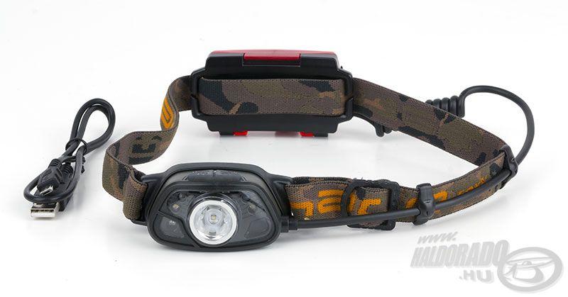 A FOX Halo MS300c fejlámpát kimagasló minőség és praktikum jellemzi