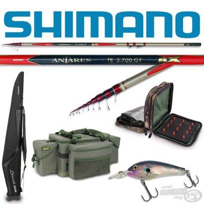 Újabb Shimano és Rapala termékek bomba jó árakon!