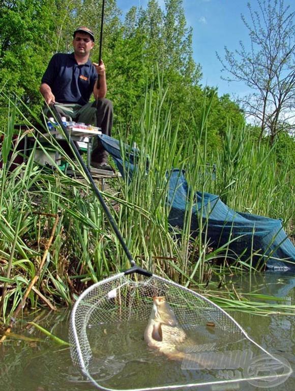 Ferenc igen látványos horgászatot mutatott be!