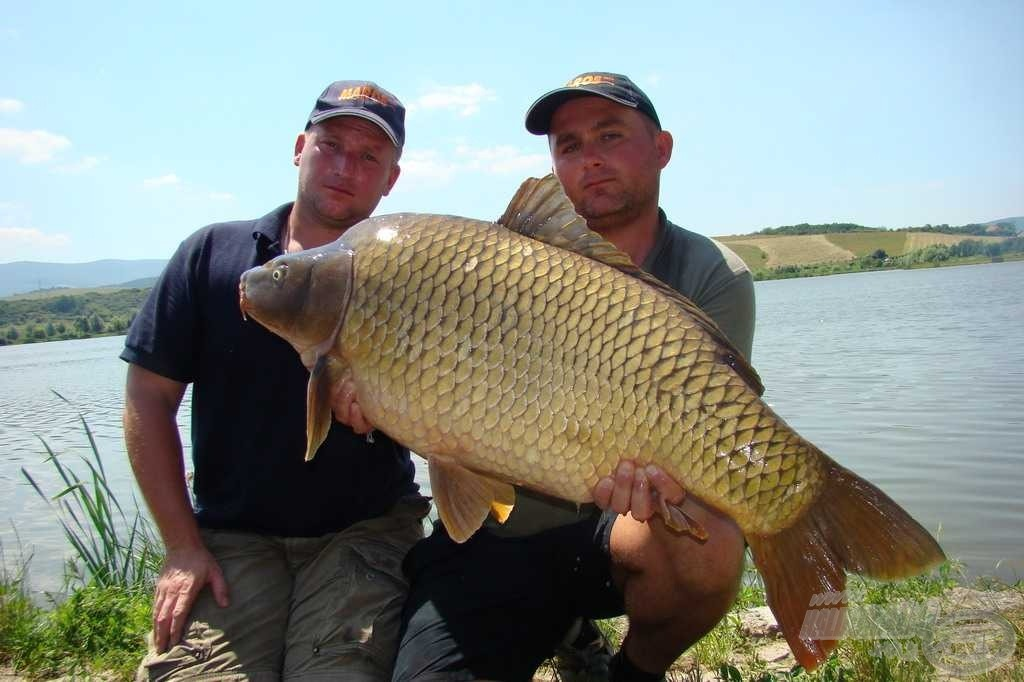 Az eredmény 17,14 kg, az elejtő Fekete Károly