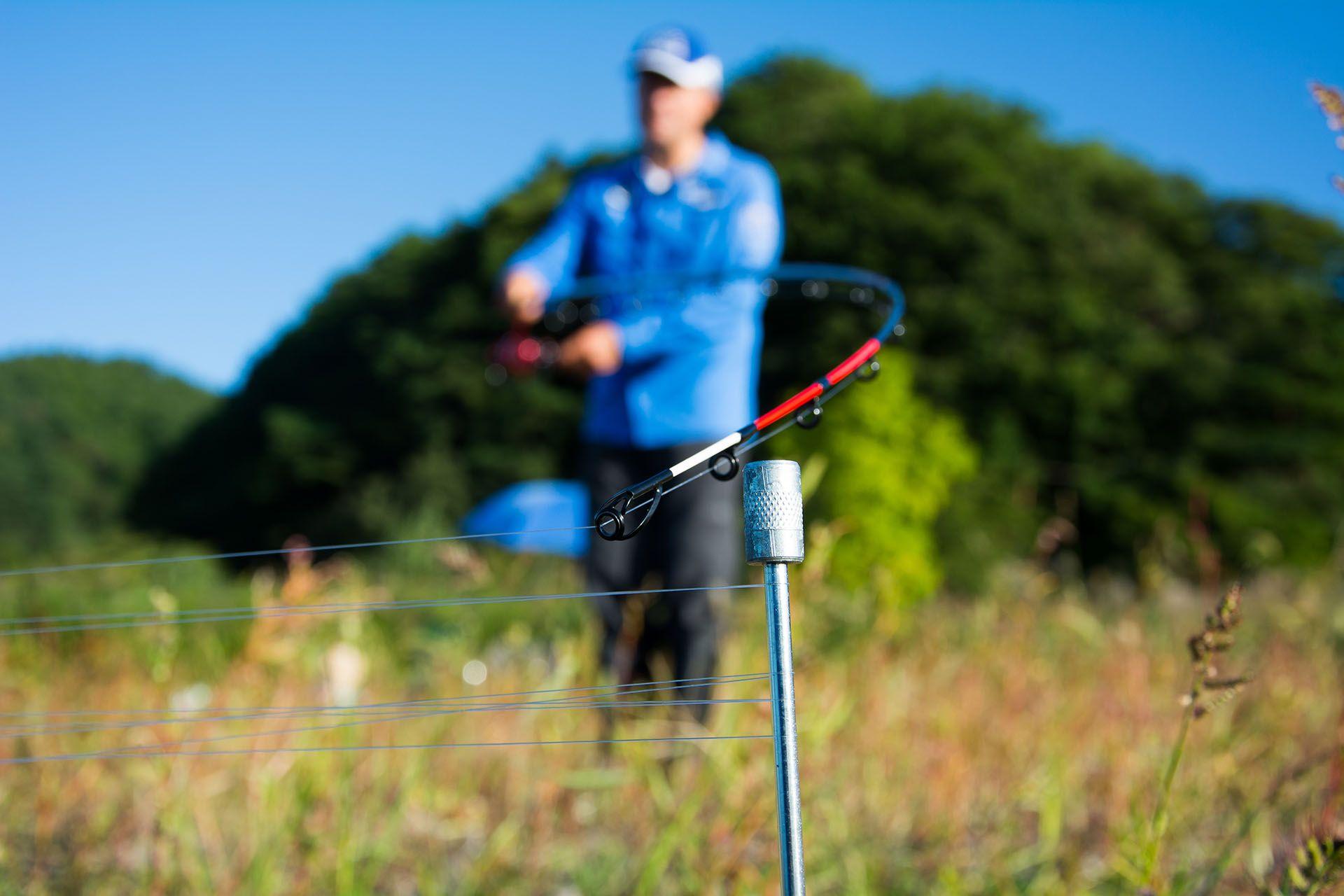 Végül úgy döntöttem, hogy 50 méterre fogok horgászni
