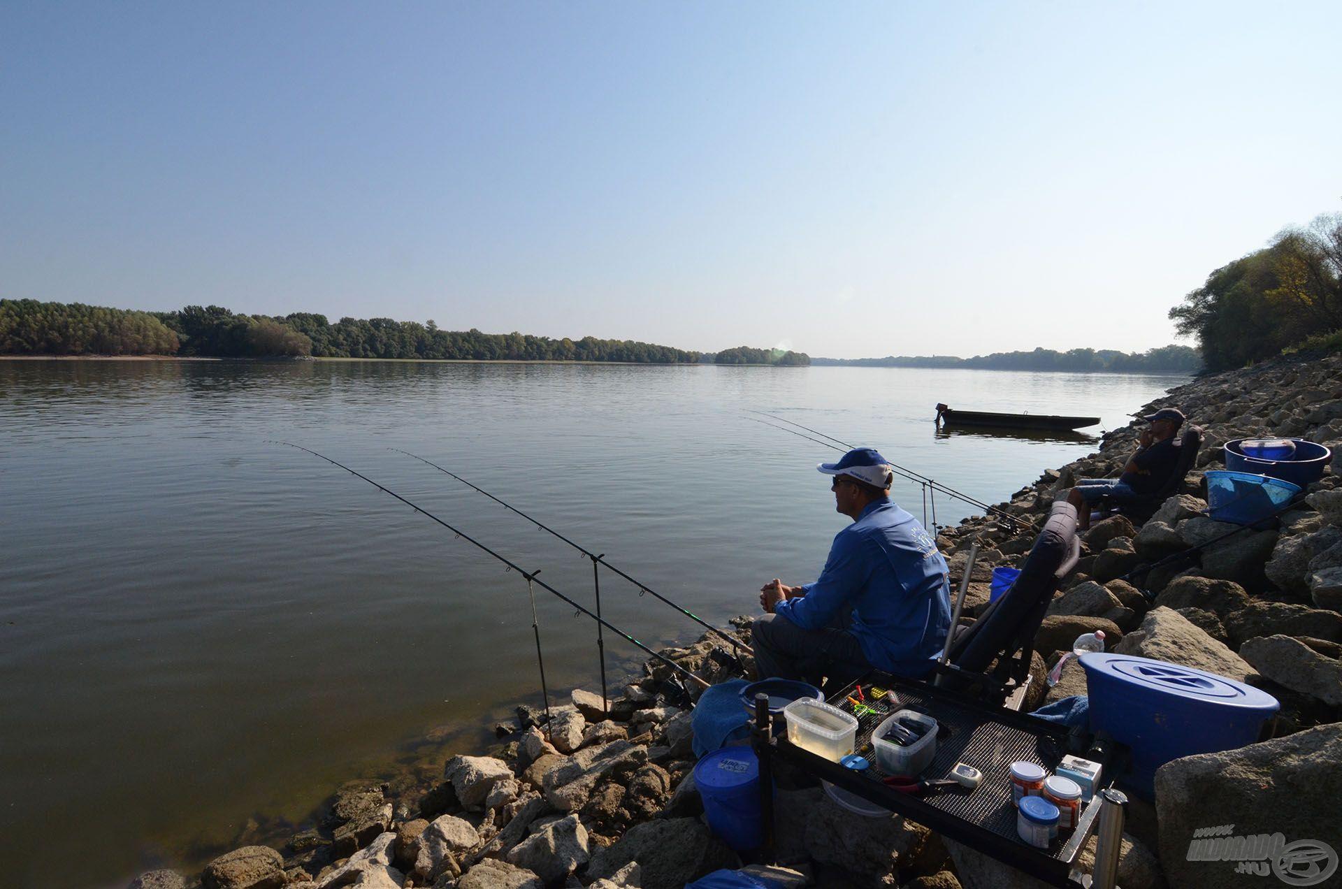Minden a helyén, kezdődhet a horgászat