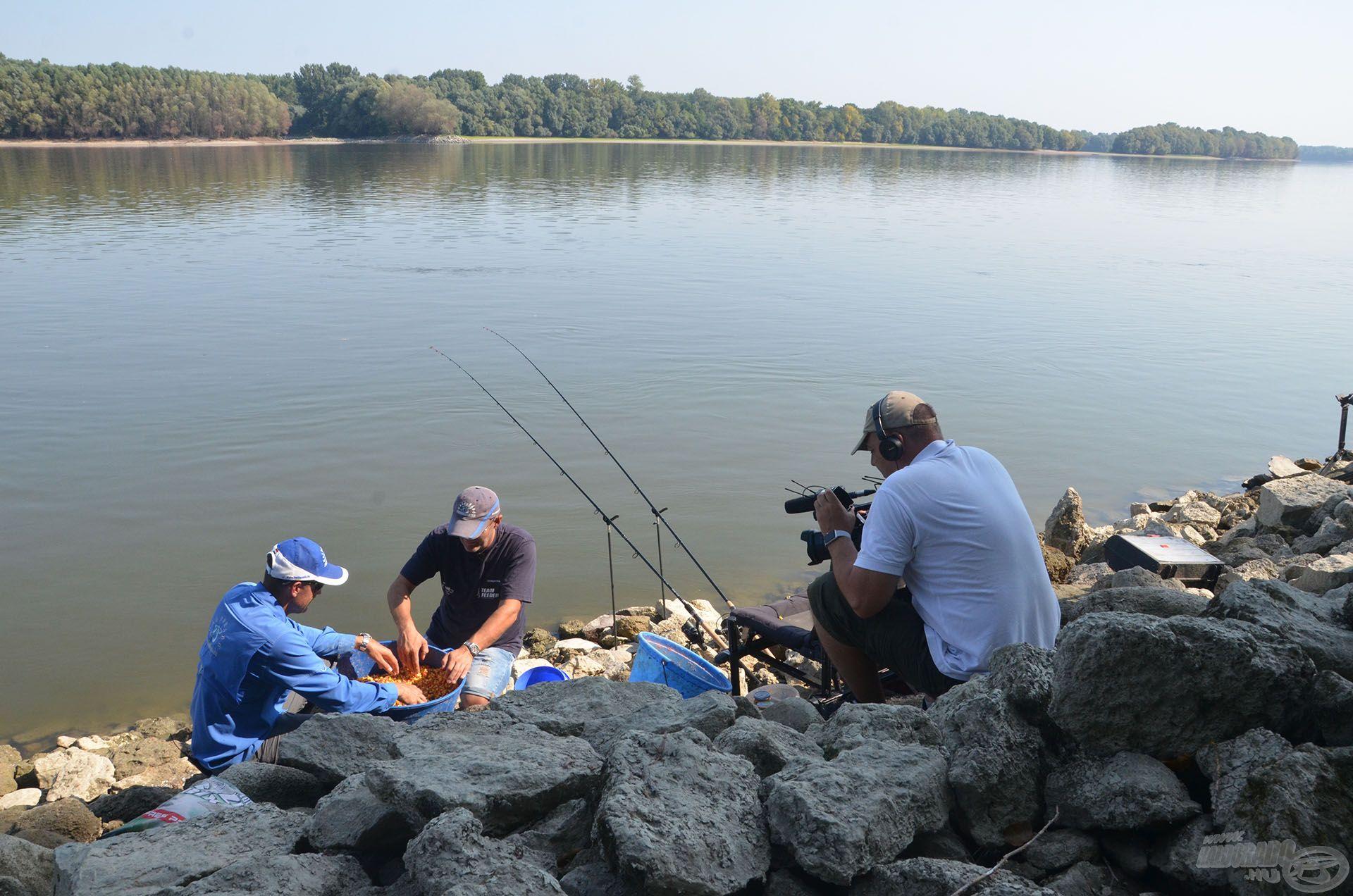 A horgászat legizgalmasabb és legérdekesebb részeit kamerával is megörökítettük, amely végeredménye egy igazán különleges és szép film lett